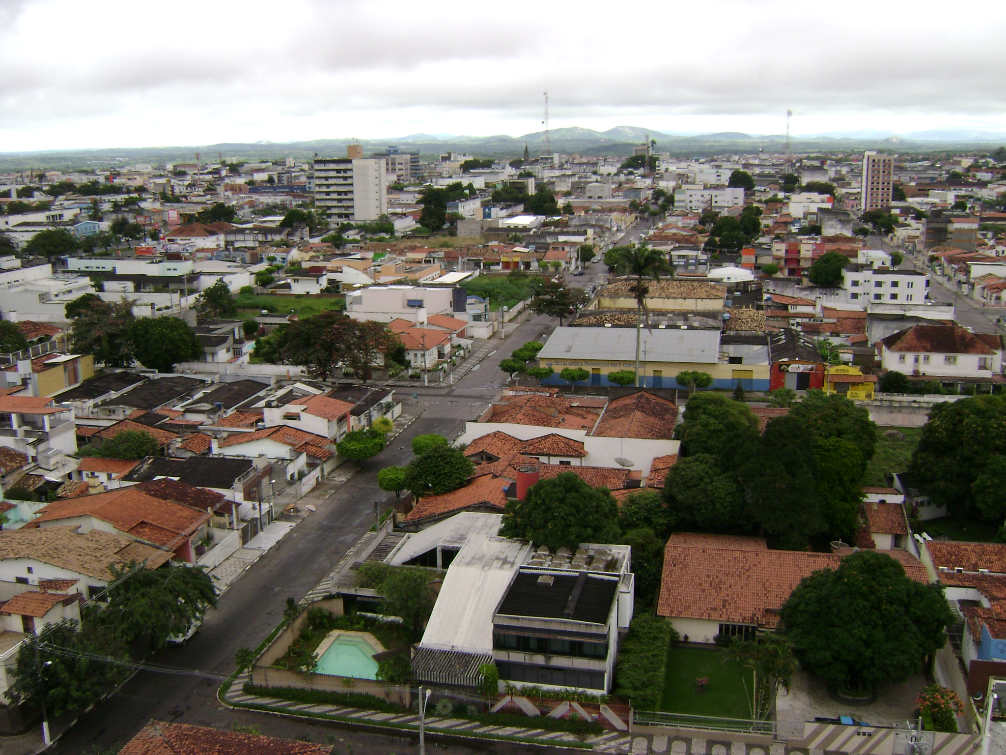 skyline view of Feira de Santana