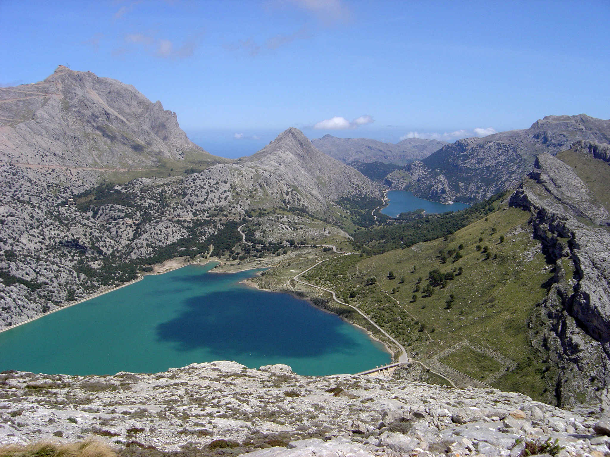 The Serra de Tramuntana has many gasp-inducing vistas in store for you, such as this one...